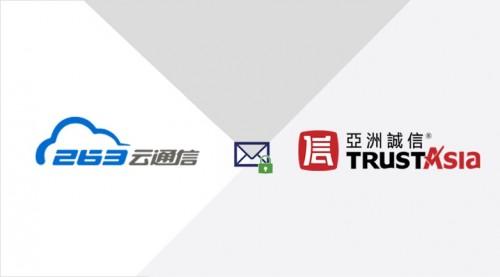 亚洲诚信联合263企业邮箱 推出数字签名解决方案