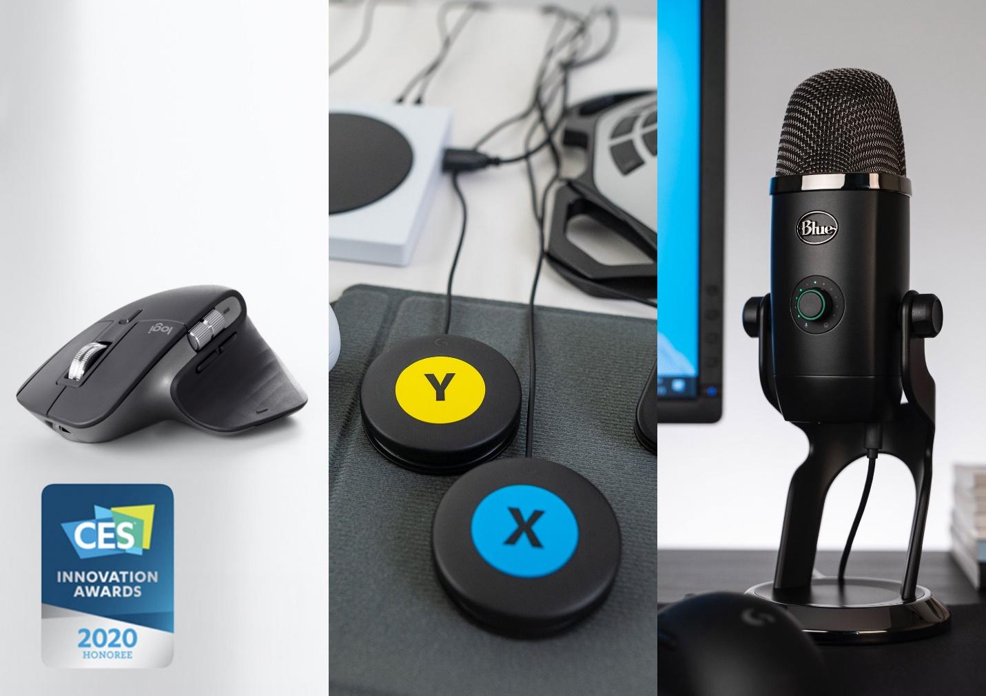 不止于新,罗技三款产品再度斩获2020 CES创新设计大奖