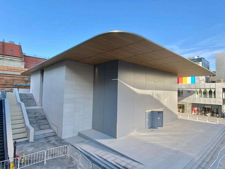 苹果商店位于三里屯将于三月份开业