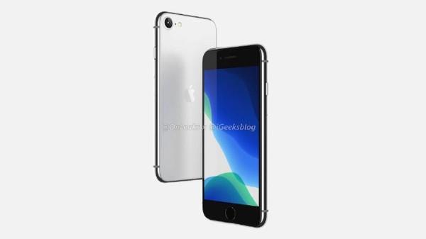 暴露的iPhone 9详情正面带触摸标识背面带雾背板