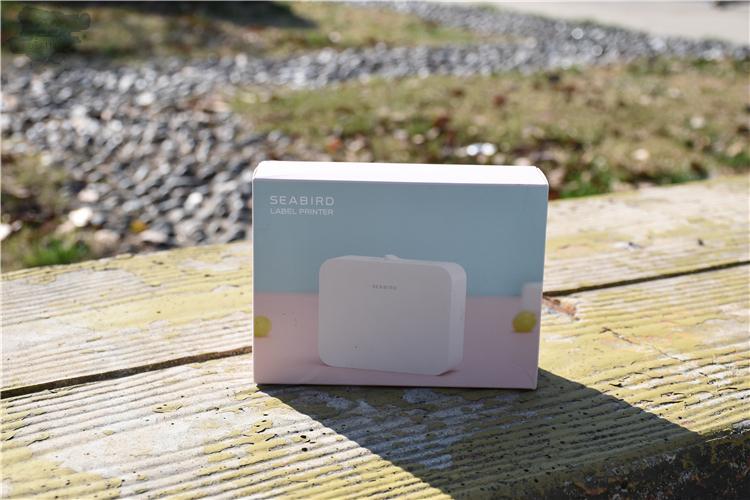 小型实用家用贴标机——海鸟标签机测量