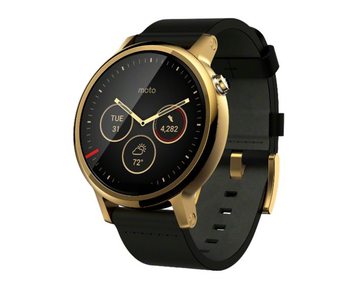 摩托罗拉三代摩托罗拉360智能手表重返江湖