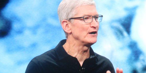 苹果首席执行官库克呼吁全球企业税制改革