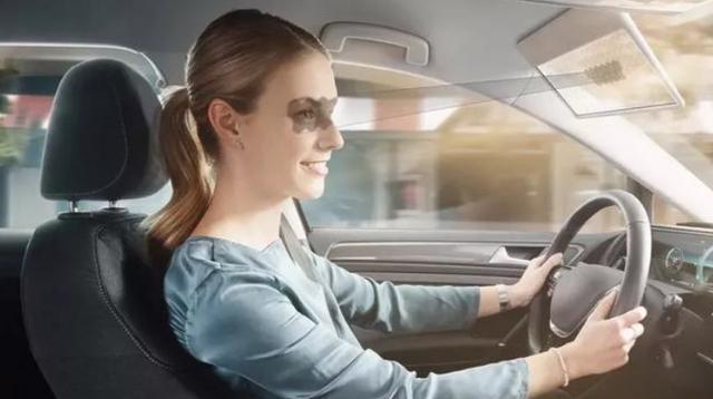 遮阳板也可以创造高科技加入人工智能技术从此告别太阳镜