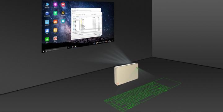 智辉董事长兼总裁王茜空间触摸技术实现姿态控制——一种新型光学计算机