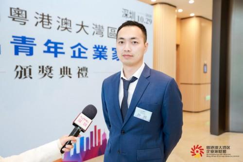 编程猫联合创始人兼CTO孙悦获首届粤港澳大湾区杰出青年企业家称号